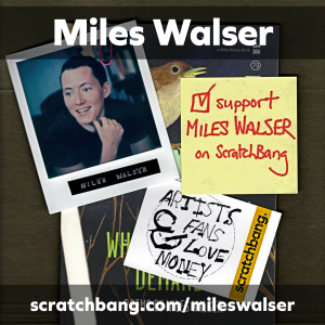 collage of Miles Walser ephemera