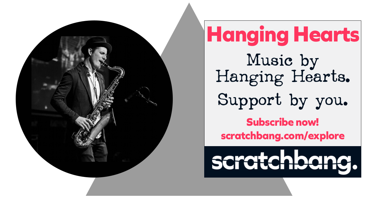 Hanging Hearts, musicians on ScratchBang. Music by Hanging Hearts. Support by you. Subscribe now!